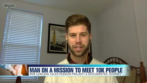 Man On a Mission to Meet 10K Friends